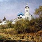 """Прокопенко А  """"Вид на Высотский монастырь"""""""