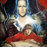 "Александр Рекуненко ""Невеста Агнца. Откровение Иоанна Богослова"",  холст\масло, 1991г"