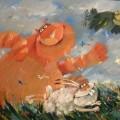 """Хлебников Валерий """"Против ветра"""", хм, 60х80, 2011г"""