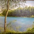"""Валерий Антипин """"Утро"""" х.м, 60х80, 2012г"""