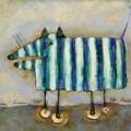"""Г.Ким """"Её собака"""" х.м, 40х50, 2012г"""