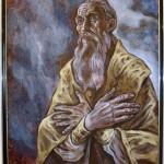 """""""Владыка Зиновий Мажуга (в схиме Серафим)"""" 162х126, 2001г"""