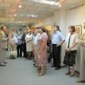 П.В.Тулаев проводит экскурсию по выставке