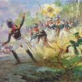Н.С.Самокиш(1860-1944) Подвиг солдат Н.Н.Раевского под Салтановкой, 1912г