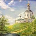 """Ивахненко Светлана """"Лето"""" х.м, 40х35, 2013г"""