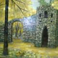 "Свиридова В.А. ""Царицыно.Башня-руины"" к\м, 35х50, 2011г"