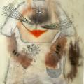 "Хлебникова Мария ""Белая невеста"", бумакв, 37х26, 2008г"