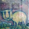 """Засухин Пётр """"Позднее возвращение"""", 45х60, бумпастель, 2001г"""