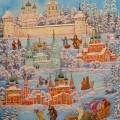 """Сланковская С.Н. """"Зима в Ярославле"""""""