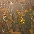Артиллеристы батареи Раевского. бум.пастель, 2012г, 65х50