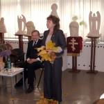 Марина Лазарева читает стихи Е.Сапрыкиной. Представление миниатюр