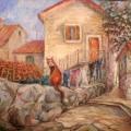 """Колесова Елена """"Рыжий из Котора(Черногория), оргмасло, 50х60,2012г"""