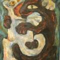 """Голуб Ира """"Поединок"""", х\м, 40х50, 2006г"""