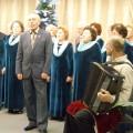 Солист хора Леонид Горелик