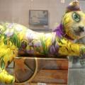 """Холина Зоя """"Кошка Ирис-ка"""", текстиль, декупаж, 2012г"""