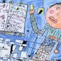 Мартин Трукса, 9 лет, День в школе, Чехия