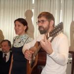 Актёры театральной студии , барды Андрей и Галина Соловьёвы