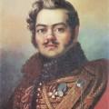 Д.Доу(1781-1829) Портрет Д.В.Давыдова, 1820г