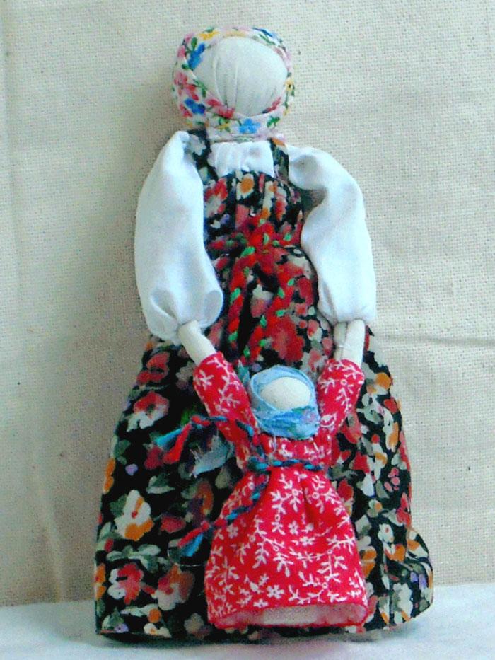 Картинка куклы в русском национальном костюме