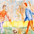 Песцов Илья, 10 лет Футбол во дворе, Росия