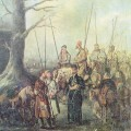 Неизвестный художник. Партизаны. 1 четверть XIX века