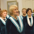 Солистка хора Вера Говоркова