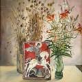 """Афоненко А.С. """"Георгий и цветы"""" х.м, 90х70, 1997г"""