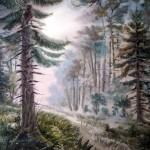 Д.Старчевский Утро в лесу
