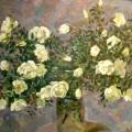 Этюд с чайными розами