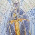 """Холин """"Ангел в силе"""" х.м. 60х70 2013"""