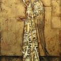 """Красавин-Белопольский """"Ангел с чашей"""" х.м. 80х60"""