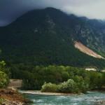 Красная поляна, Сочи - река Мзымта