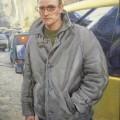 Мужчина со шрамом, 2008г, х.м, 80х60