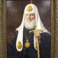Наш патриарх, 2011г, х.м, 80х60