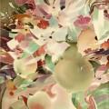 """Нечаева О.А """"Стеклянный натюрморт"""" батик, 50х63, 1999г"""