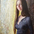 Оля Бойкова, 2011г, х.м, 80х70