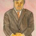 Поэт Сергей Коротков, орг.м, 45х32, 2012г