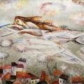 """Полоз Г. """"Белые ночи"""" х.м. 70х100 2013"""
