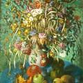 """Птюхин В.И. """"Осенний букет"""" х.м, 80х100, 1994г"""