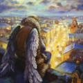 """Родионов И. """"Хранитель города"""" х.м. 80х60"""