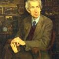 С.Н.Сергеев, 1982г, Портрет В.А.Кузнецова, ветерана ВОВ, 90х70, х.м.