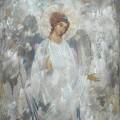 "Штуц Е. ""Серебряный ангел"" х.м. 90х70 1995"