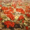 """Жук В.К. """"Тюльпаны"""" х.м, 80х100, 1997г"""