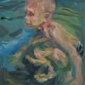 Радостное купание, 50х40, холст, акрил, 2013г